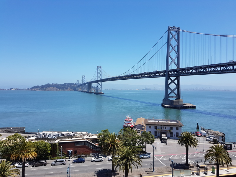 View from Google SF office